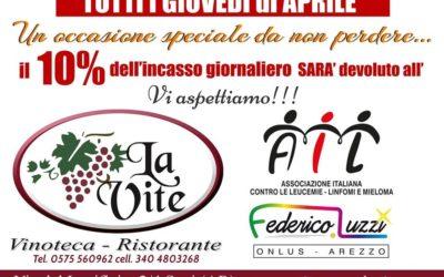 Ristorante La Vite per AIL Arezzo ONLUS