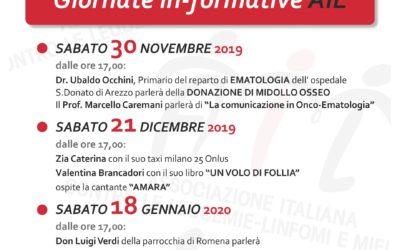IN-CONTRIAMOCI 3 eventi di Ail Arezzo ONLUS